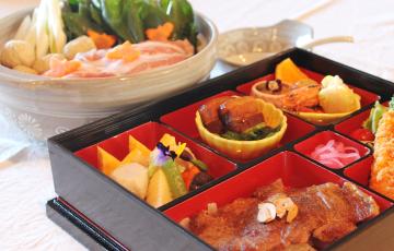 麓山高原豚の常夜鍋と選べる特製和膳セット